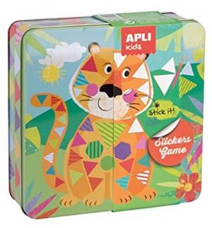 APLI Stickers Game - Tiger