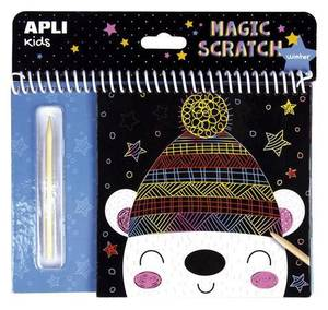 APLI Magic Scratch Pad - Winter
