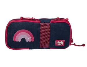 Tinc Mallo Compartment Pencil Case - Navy