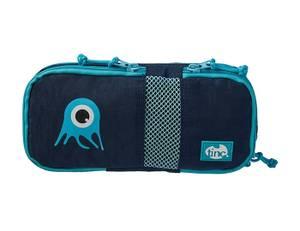 Tinc Compartment Pencil Case - Navy/ Blue