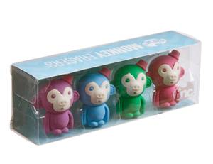 Tinc Monkey Eraser Collection