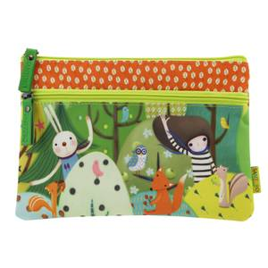 Santoro Kori Kumi 2 Zip Pencil Case - Toodle Pip