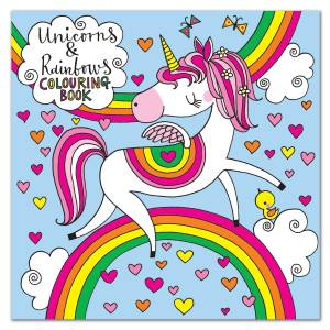 Rachel Ellen Colouring Book - Unicorns & Rainbows
