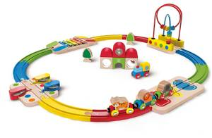Hape Rainbow Route Railway