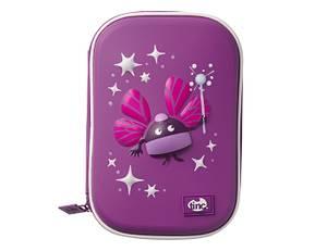 Tinc Ooloo Embossed Hardtop Pencil Case - Purple