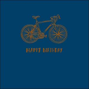 Woodmansterne Happy Birthday Bicycle Card (394157)