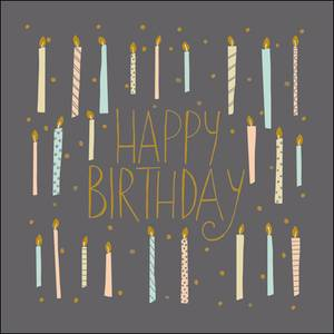 Woodmansterne Birthday Candles Card (404986)