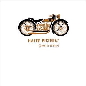 Woodmansterne Happy Birthday Born To Be Wild Card (420122)