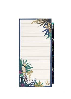 Blueprint Sara Miller Magnetic Jotter And Pencil - Tahiti