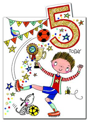 Rachel Ellen Age 5 Card (CHERRY10)