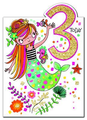 Rachel Ellen Age 3 Card (CHERRY3)