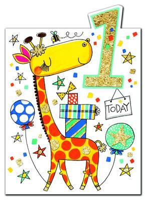 Rachel Ellen Age 1 Card (CHERRY6)