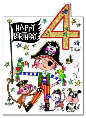 Rachel Ellen Age 4 Card (CHERRY9)