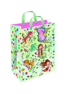 Rachel Ellen Medium Portrait Gift Bag - Mermaids (GBGM9)