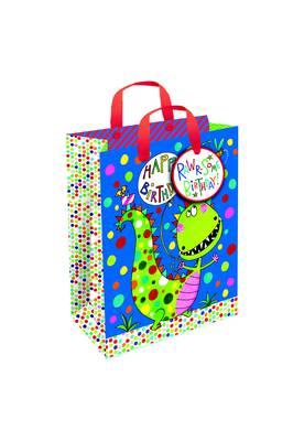 Rachel Ellen Small Gift Bag - Dinosaurs (GBGS2)