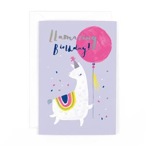 Hotchpotch Llamazing Birthday Card (HPLE11)