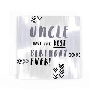 Hotchpotch Uncle Birthday Card HPLX37