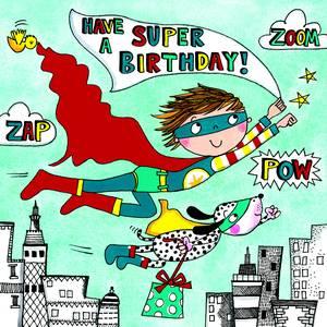 Rachel Ellen Jigsaw Card - Super Hero (JIG49)