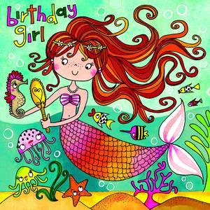 Rachel Ellen Jigsaw Card - Mermaid (JIG50)