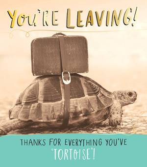 Pigment You're Leaving Tortoise Card (JQ729B)
