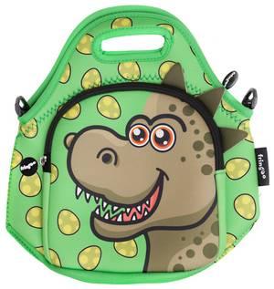 Fringoo Neoprene Lunch Bag - Dino