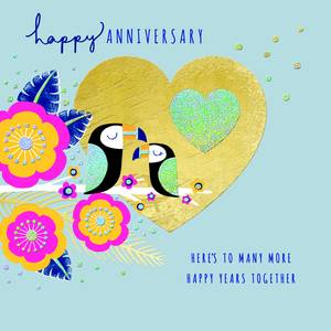 Rachel Ellen Happy Anniversary Card (LULA12)
