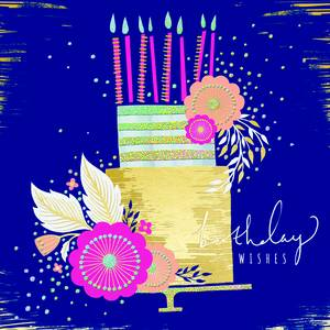 Rachel Ellen Birthday Cake Card (LULA6)