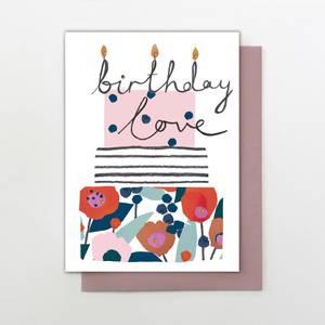 Stop the Clock Birthday Love Card (MK39)