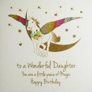 Five Dollar ShakeWonderful Daughter Birthday Card (NE56)