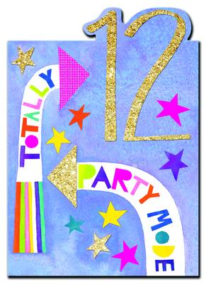 Rachel Ellen Age 12 - Party Mode Card (POW8)