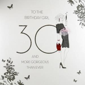 Five Dollar Shake30th Birthday Girl Card (RAD3)