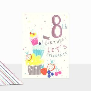 Laura Darrington 8th Birthday Card