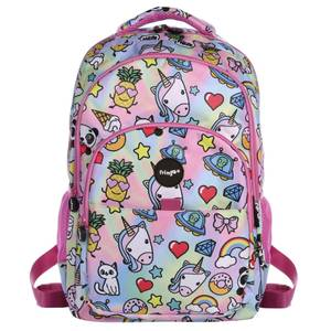 Fringoo Multi Compartment Backpack - Holo Doodles