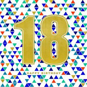 Rachel Ellen 18th Birthday Card (ULTRA2)
