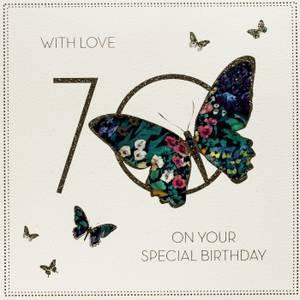 Five Dollar Shake70th Birthday Card (BLY12)