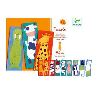 Djeco Wooden Animal Puzzles