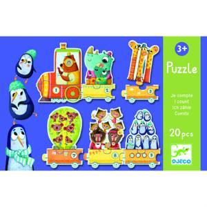 Djeco I Count Puzzle