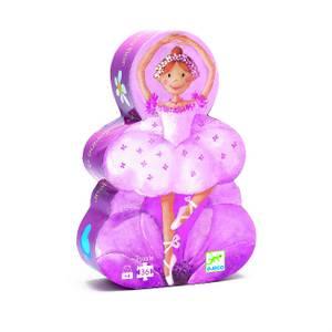 Djeco Ballerina With Flower Puzzle - 36 Pcs