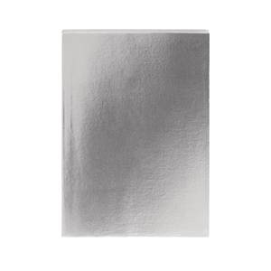 GO Stationery Metallics A5 Notebook - Pewter