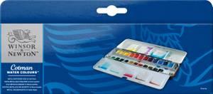 Winsor & Newton Cotman Watercolour Metal Sketch Box (0390645)