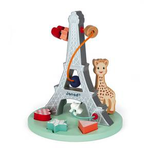 Janod Sophie La Girafe Bead Maze J09504