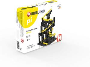 Hubelino Pi Advanced Marble Run - Medium 99 Piece Starter Set