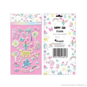 Blueprint Happy Zoo Alpaca Party Stickers