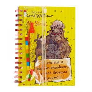 Blueprint David Walliams A5 Notebook & Writing Set