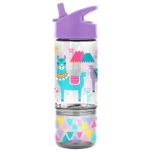 Stephen Joseph Flip Top Bottles W/ Snack Container Llama (SJ115316)