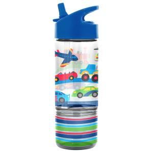 Stephen Joseph Flip Top Bottles W/ Snack Container Transportation (SJ115362)