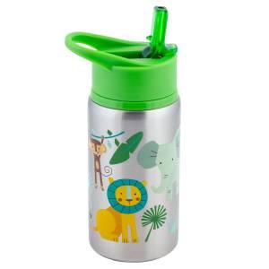 Stephen Joseph Stainless Steeel Water Bottles Zoo (SJ117534)