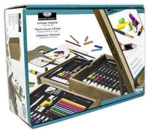Royal & Langnickel 104 Pc. All Media Easel Artist (REA6000)