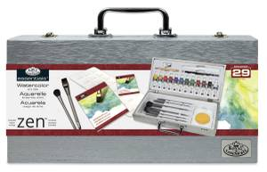 Royal & Langnickel Zen Watercolor Box Set (RZEN-WAT8301)