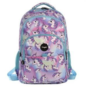 Fringoo Multi Compartment Backpack - Hologram Unicorns
